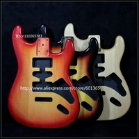 Basswood electric guitar body electric guitar kit kits basswood please leave message to tell us which color do you want
