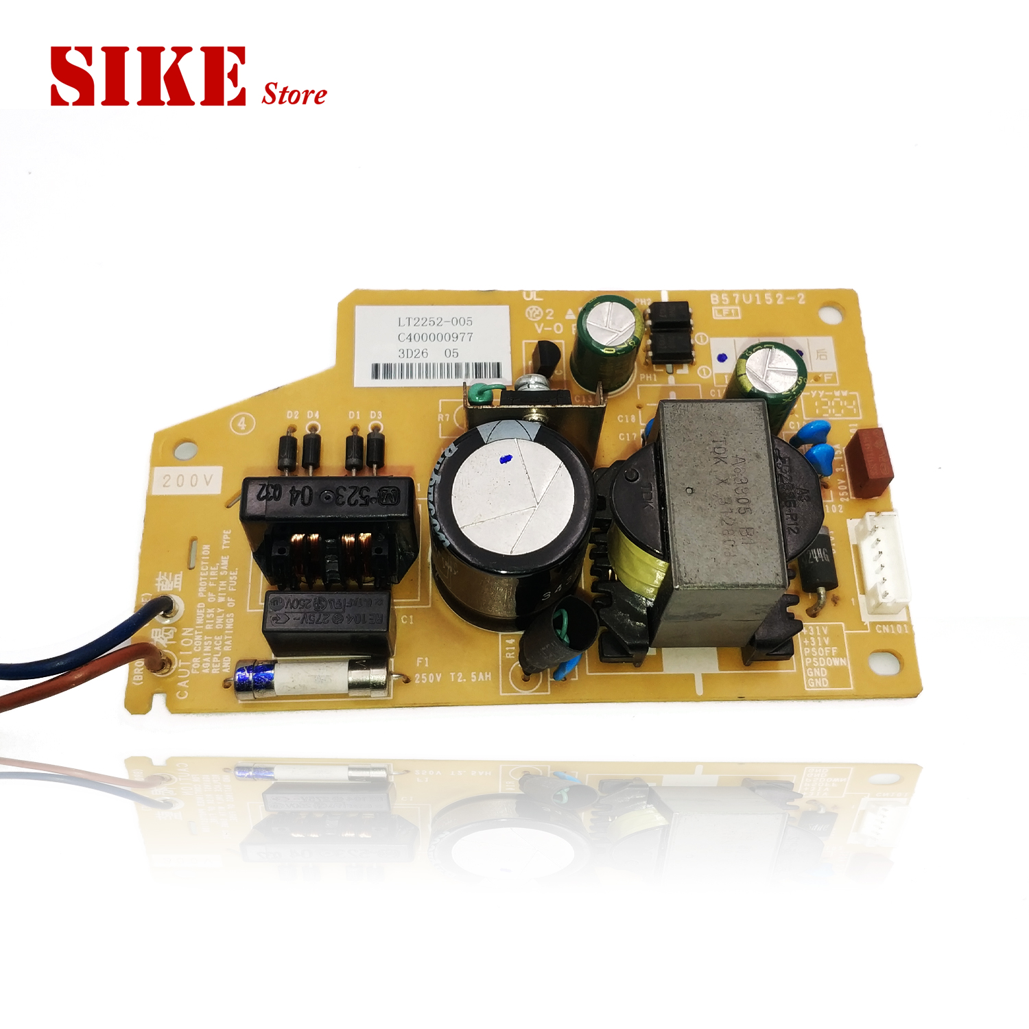 B57U152-2 SMPS For Brother  MFC J2510 J3720 J3520 J2320 J2310 J3520DW Voltage Power Supply BoardB57U152-2 SMPS For Brother  MFC J2510 J3720 J3520 J2320 J2310 J3520DW Voltage Power Supply Board