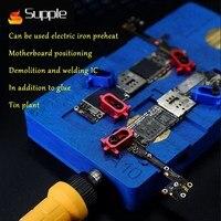 Мягкой интеллектуальные Отопление распайки платформы снос и сварка микросхема A8/A9/A10 Процессор Многофункциональный Отопление станция