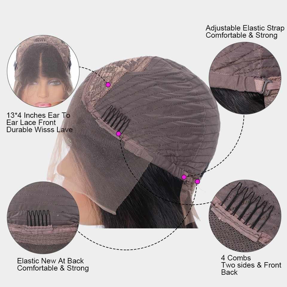 13x4 человеческие волосы на кружеве, парики, предварительно сорванные для