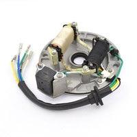 Motorcycle 6 Wire Magneto Stator Coil Generator For 50cc 70cc 90cc 100cc 110cc 125cc Dirt Bike