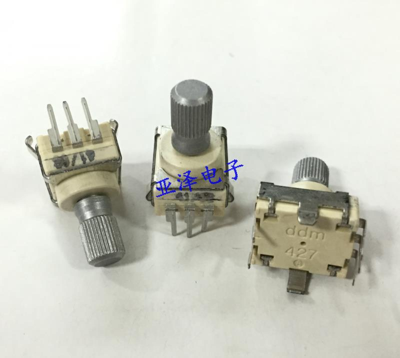 2PCS/LOT GEPRUFT German EC12 encoder with switch 30, positioning number 15, pulse number 427-0221820L001 купить дешево онлайн