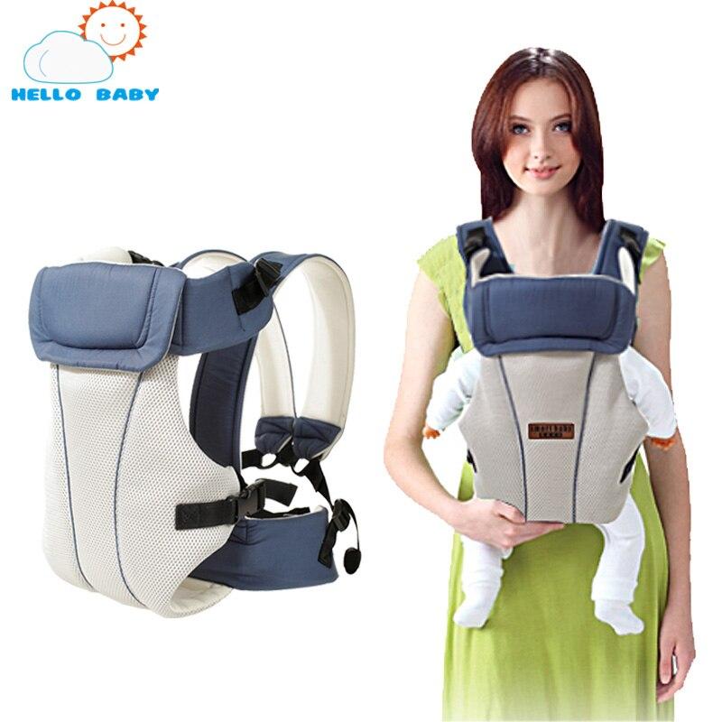 Front Facing Kangaroo newborn economic Baby Carrier Wrap Sling 360 bag backpack cotton 2 30 Months