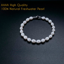 Veamor New Brand Fashion Jewelry Set AAAA 100% Real Freshwater Pearl Choke Necklace 925 Silver Woman Female Charm Bracelet