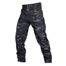 Hot Shark Soft Shell Tactical Pants Men Women Outdoor Camping Hiking Climbing Army Combat Military Hunting Fishing Male Trousers недорго, оригинальная цена