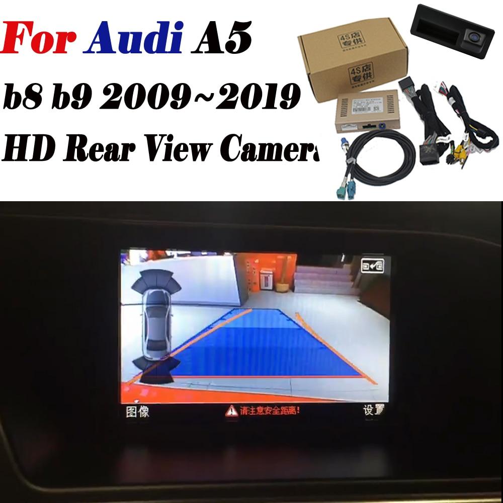 Rear Vision Camera For Audi A5 B8 B9 2009 2012 2013 2014 2015 2016 2017 2018 2019 Original Screen Upgrade Reverse Camera Decoder