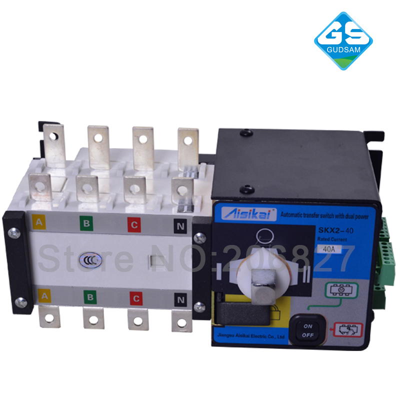 40A three phase genset ATS. automatic transfer switch 4P(ATS 40A) bearg ats 34