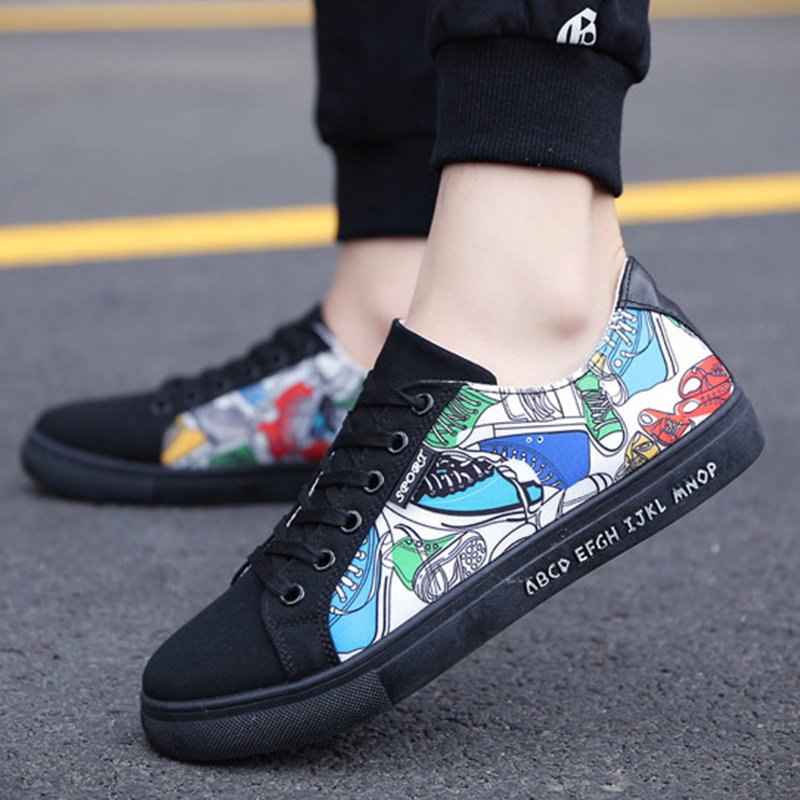 Men's Canvas Shoes Tennis New Arrivals Fashion Skate Casual Shoes Lace Up Flat Male Footware Outdoor Shoes 2018 Free Shipping bts shoes women canvas flat shoes 2016 new arrivals kpop bts all members ladies flats free shipping