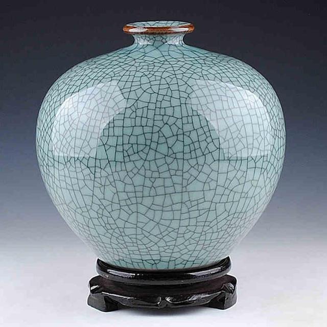 Flawless China Jingdezhen Antique Crackle Celadon Collection