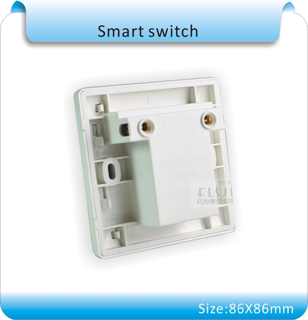 10pcs/lot Hotel Card Insert On Off Power light switch Wall switch, 20A any card to take power switch with delay 86