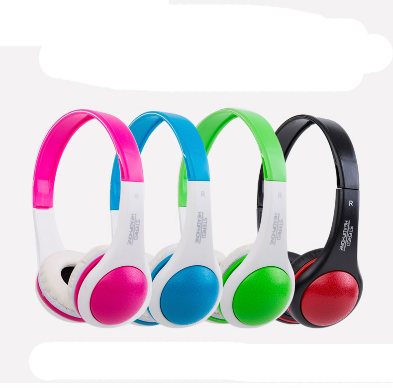 10 Pcs High Quality Kids Headphones Stereo Bass Universal For Students Child Kids Mobile Earphones Computer With 3.5mm Wired hot high quality sports stereo earphones with mic 3 5mm universal use for mobile phones mp3 mp4 gg11101