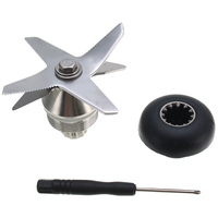 Durable Quality Stainless Steel Silver Black Blade And Drive Socket Combo Kit For Vitamix Blender Parts