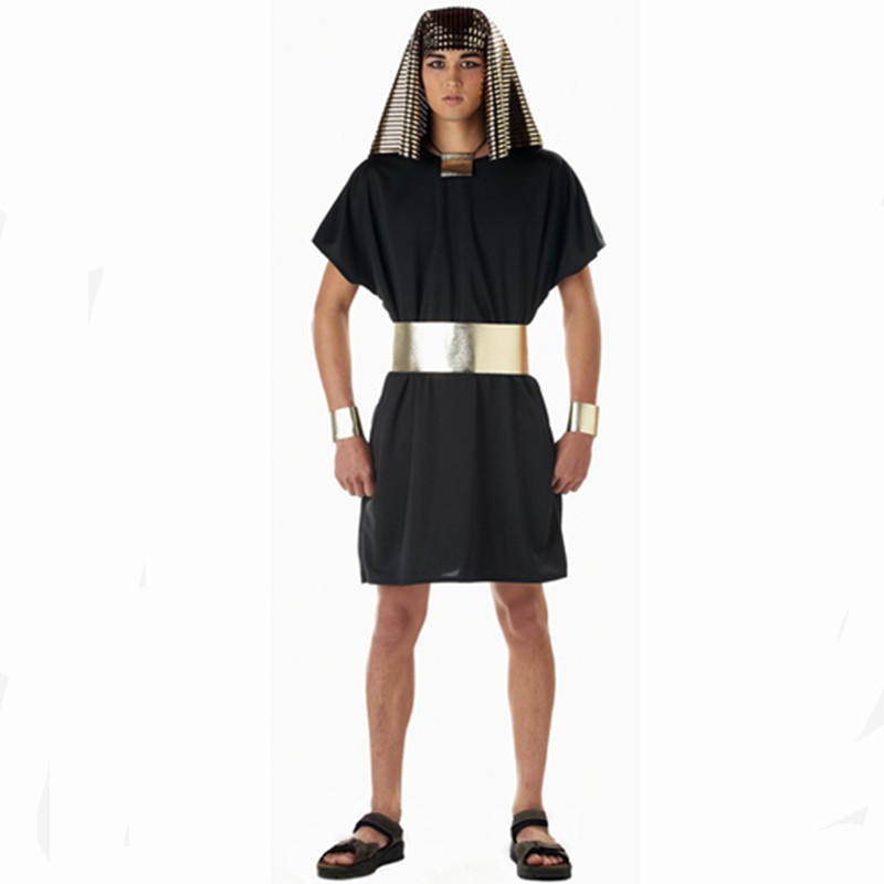 Egyptian pharaoh costume for men halloween cosplay for men egypt costume men ancient clothes