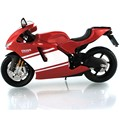 1:12 Maisto Ducati Desmosedici RR White Red Diecast Model Motorcycle New Delicate Educational Collection For Boy Gift Toys