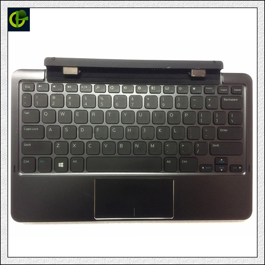 Original Keyboard With Battery Base Cover Docking Station K12A For Dell Venue 11 Pro 5130 7130 7139 7140 Case Palmrest Laptop Pc