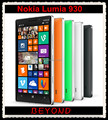 Nokia lumia 930 original desbloqueado windows mobile 8.1 gsm 3g y 4g 5.0 wifi gps 32 gb interno ''20mp de almacenamiento dropshipping