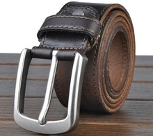 Casual Pin Buckle Leather belt For Men