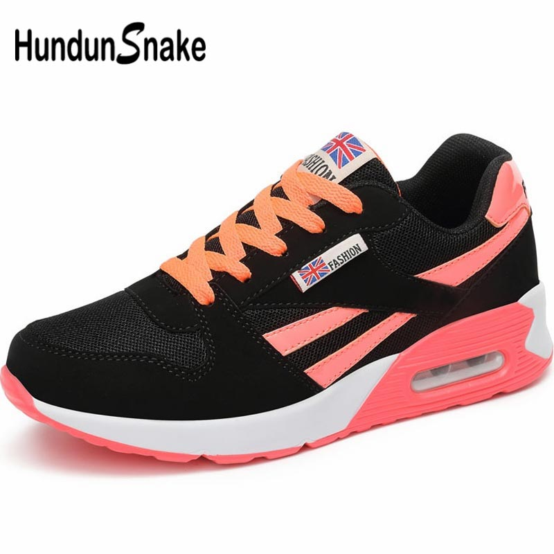 Hundunsnake Summer Women's Running Shoes Womens Tennis Shoes Sneakers Women's Sports Shoes 2019 Breathable Air Shoe Sport A-048