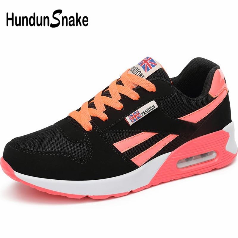 Hundunsnake Summer Women's Running Shoes Womens Tennis Shoes Sneakers Women's Sports Shoes 2019 Breathable Air Shoe Sport A-048
