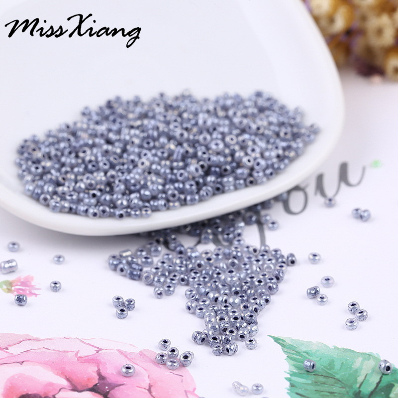 Diy 2mm Charm Crystal Glass Czech Seed Beads Loose Spacer Hama Bead Bracelet Necklace For Jewelry Making Accessories 100pcs/lot Exquisite In Workmanship