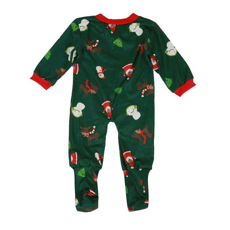 Conjunto de pijamas de Navidad a juego para mujeres, para hombres, bebés, niños, ciervos, Impresión de algodón, casual 2 uds, ropa de dormir, conjuntos de ropa de dormir