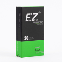 New EZ Revolution Tattoo Needles Cartridge 12 Magnum M1 For Tattoo Machines Safety Membrance Inside System