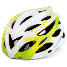 Ultralight Integrally Molded Women's Cycling Helmet Road Mountain Bike MTB Bicycle Helmet with Back LED Safety Warning Light rockbros bike helmet with colorful back light ultralight women men mtb road bicycle helmet night cycling accessories k6107