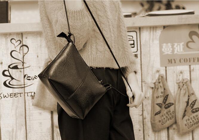 famosas mulheres de couro com Tipo : Women Handbag Shoulder Messenger Crossbody Bags