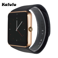 GT08 Bluetooth Smart Watch With TF Sim Card Camera Clock Notifier For Samsung Android phone Better than u8 dz09 Alloy Smartwatch