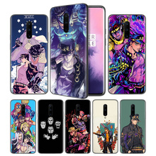 JoJo Bizarre Adventure Soft Black Silicone Case Cover for OnePlus 6 6T 7 Pro 5G Ultra-thin TPU Phone Back Protective