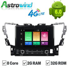 8 Core, 2G RAM,32G ROM, 9 inch Android 6.0 GPS Navigation System DVD Stereo Media Auto Radio For Toyota Alpha 2015