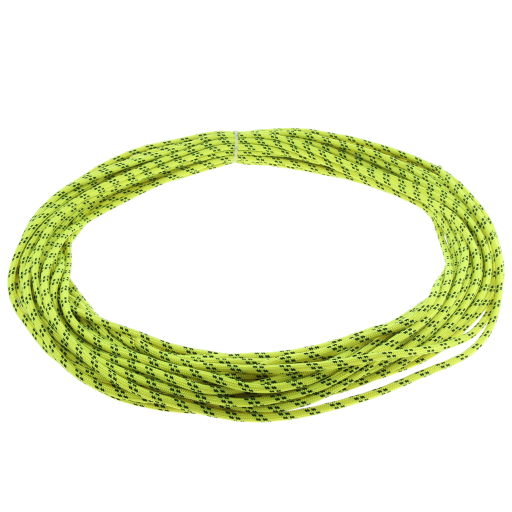 Image 4 - Nylon Climbing Safety Auxiliary Rope Static Cord Outdoor Rescue Tool Multipurpose Climbing Accessories 6mmx30m Orange/Green/Blue-in Climbing Accessories from Sports & Entertainment