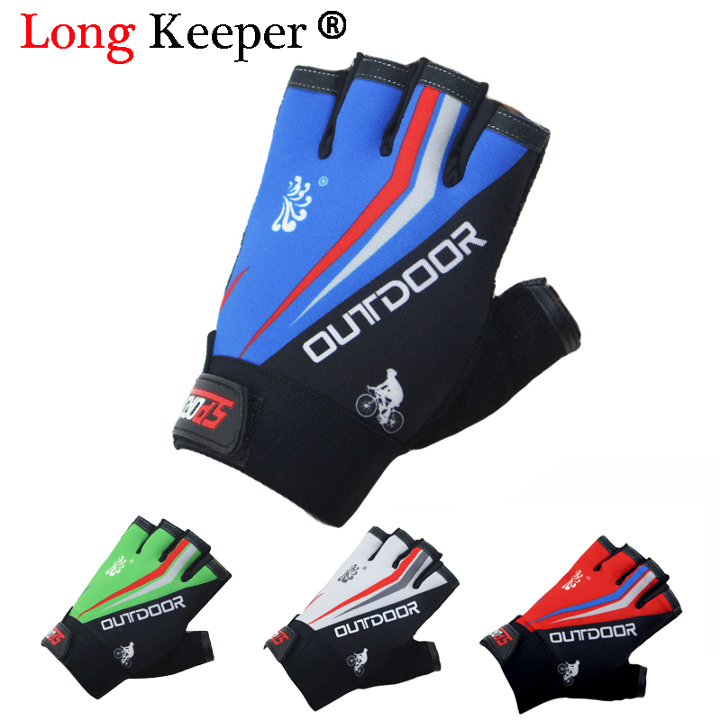 Long Keeper 2018 Women/Men Training Gym Gloves Body Building Sport Fitness Gloves Exercise Weight Lifting Gloves for Men Women