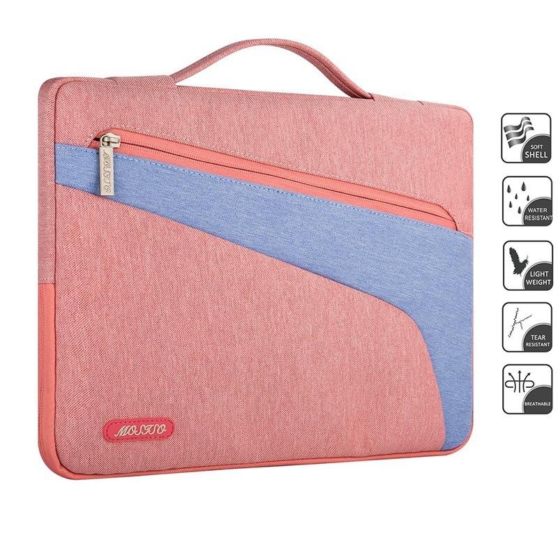 MOSISO 13.3 Canvas Laptop Briefcase Bag For Macbook/Asus/Dell 13 inch Computer Ultrabook Notebook Sleeve Case Cover Handbag