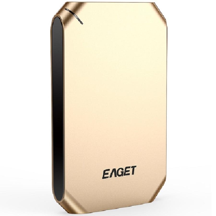 Eaget g60 500 ГБ 1 ТБ 2.5 дюймов жестких дисков высокой Скорость USB 3.0 ударопрочный полный Шифрование внешний жесткий диск HDD для портативных ПК