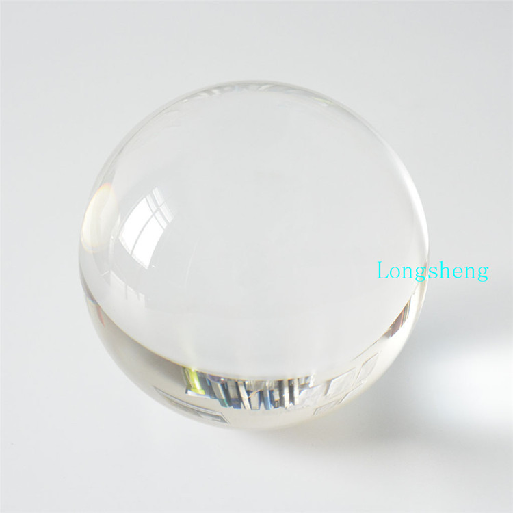 60mm crystal ball paperweight glass sphere magic transparent or