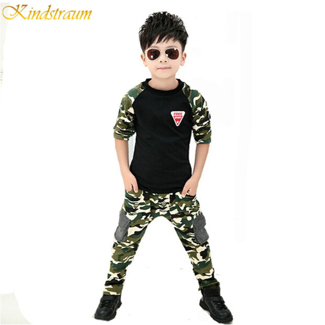 2015 New Camouflage Kids Clothing Set for Boys&Girls Spring&Autumn Cotton Camo Boys Sports Set Active Girls Clothing Sets,YC018