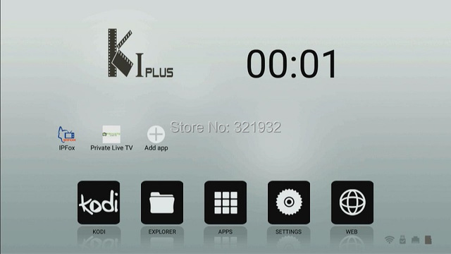[Genuine) ACEMAX KI Plus K1 Plus Android 5.1 Amlogic S905 64BIT TV BOX 1GB RAM 8GB ROM KODI 16 Pre-installed WIFI HDMI 2.0 DLNA