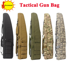 98CM Tactical Heavy Duty Gun Slip Bevel Carry Bag Airsoft Rifle Case Shoulder Bag Hunting Shooting Gun Bag tactical soft gun bag black heavy duty tactical shotgun rifle case shoulder pouch carbine bag shooting gun carry case
