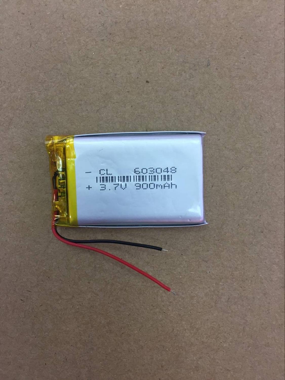 3.7V lithium polymer battery 603048 Courbevoie children chant teaching machine 900mAh 063048 story machine Li-ion Cell