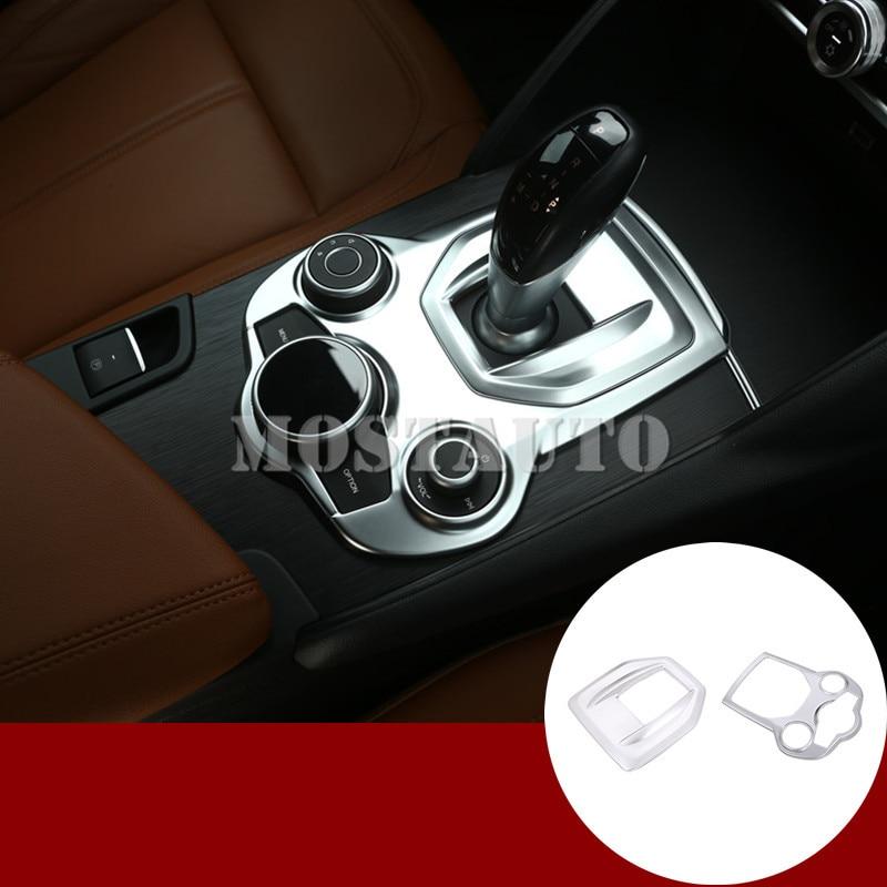 For Alfa Romeo Stelvio Giulia Inner Center Console Gear