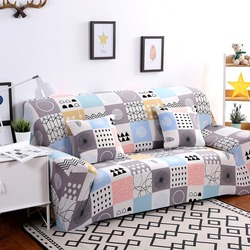 Universal Sofa Cover Flexible Stretch Big Elasticity Couch Cover Loveseat Sofa Funiture Cover Sofa Towel 1/2/3/4-seat Sofa Funda
