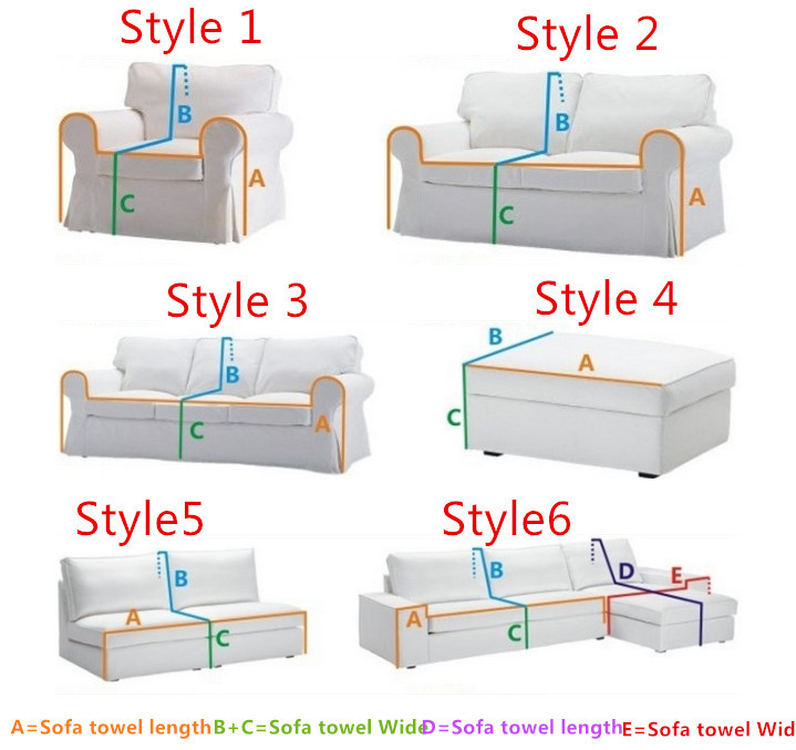 How To Measure Sofa For Slipcover Furniture