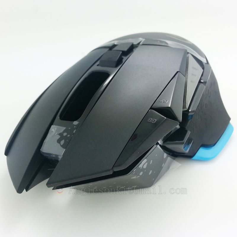 NEW Mouse Top Shell Cover Replacement Outer Case+ Weights Cover / Battery Cover for Log.itech G502
