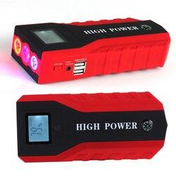 Inteligentny wyświetlacz Super moc banku mocy dla benzyny urządzenie do wzmacniacz do akumulatora samochodowego ładowarka samochód skok startowy przenośne 12 V w Urządzenie rozruchowe od Samochody i motocykle na