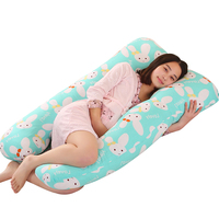 Pregnancy Pillow Side Sleeper Pregnant Women Bedding Full Body U Shape Cushion Long Sleeping Multifunctional Maternity Pillow
