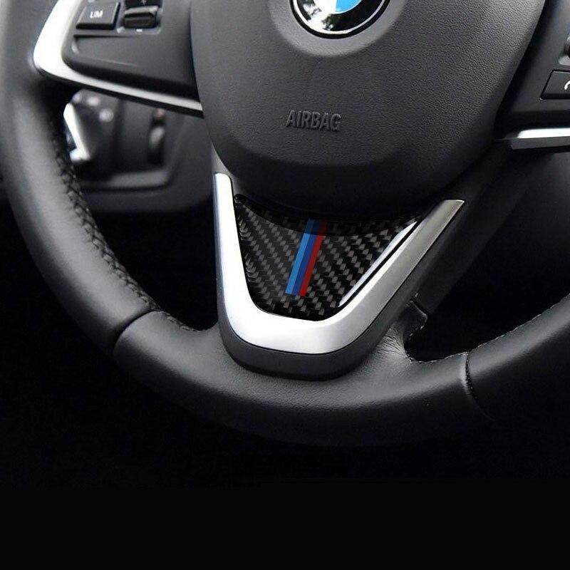 Carbon argent Emblème Autocollant coins pour BMW f46 2er f80 m3 f82 m4 f48 x1
