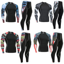 New thermal men  underwear r sets compression
