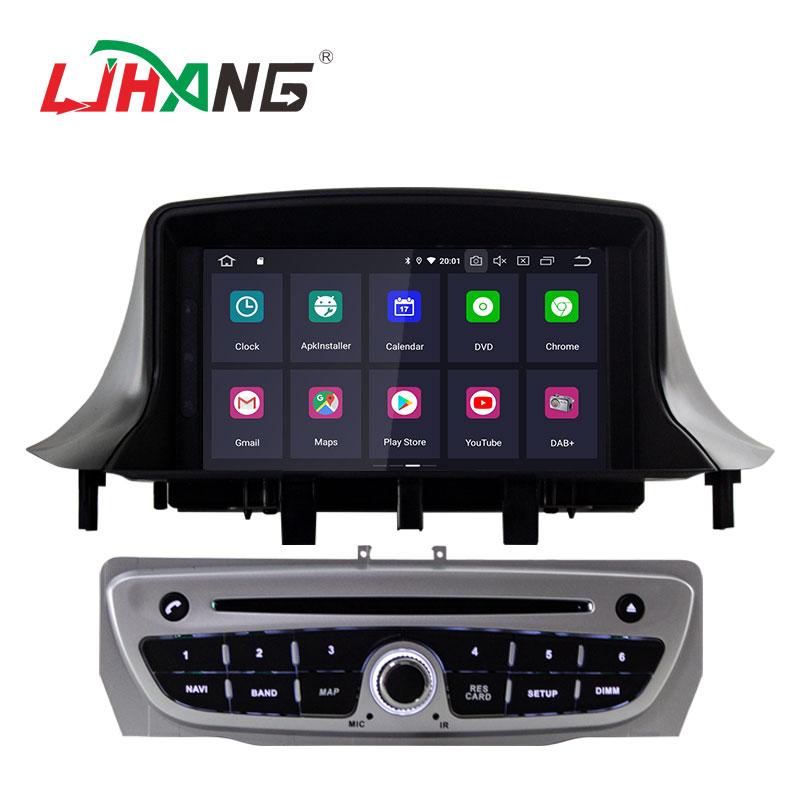 LJHANG Android 9.0 lecteur DVD de voiture pour Megane 3 Fluence 2009-2015 autoradio multimédia 1 Din GPS Navigation WIFI Audio stéréo RDS - 2