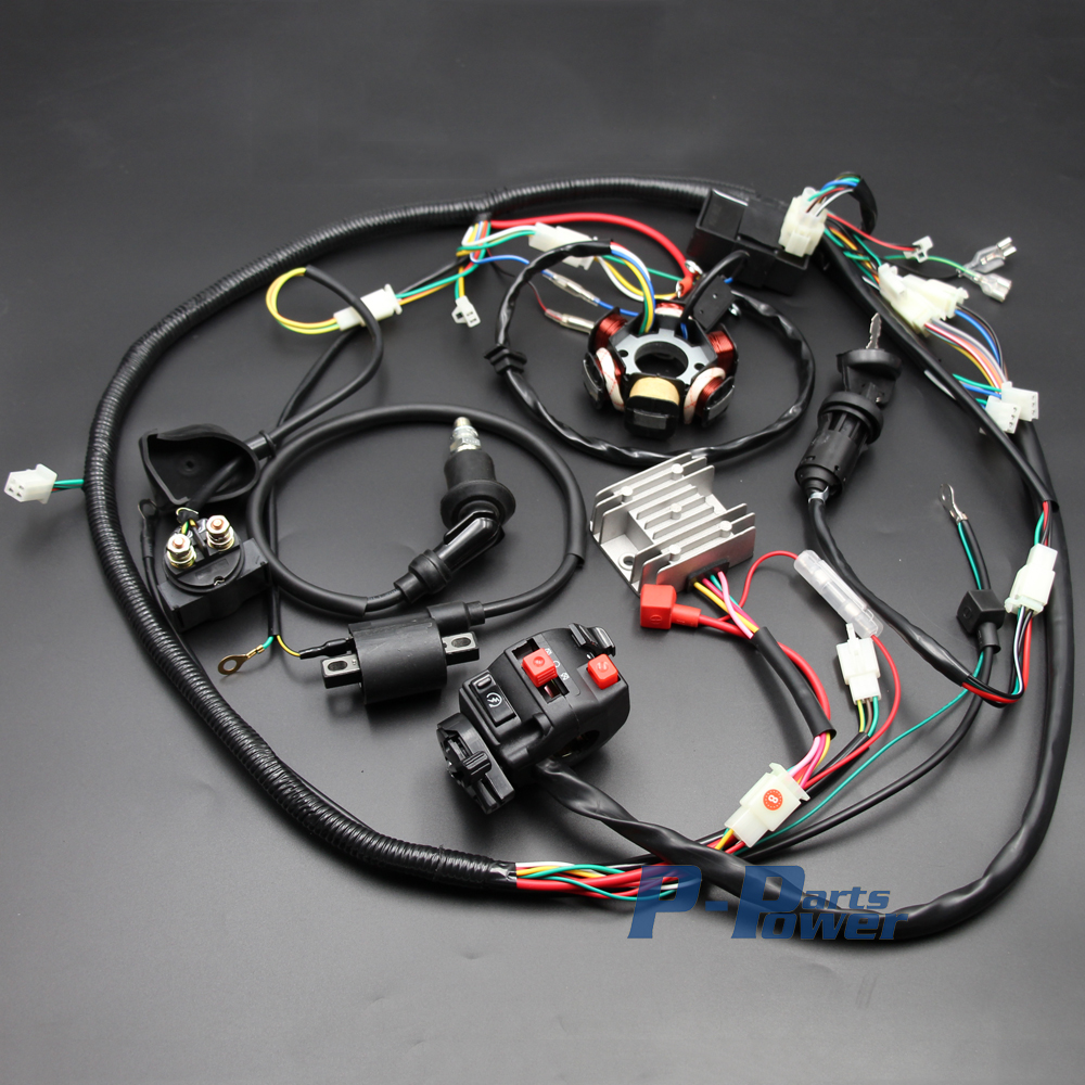 Chinese Gy6 125cc 150cc Electrics Stator Wire Harness Assembly Wiring Loom Magneto Coil Cdi Rectifier Solenoid New In Motorbike Ingition From Automobiles
